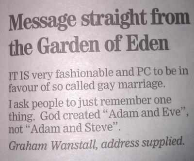 letter homophobia - dover express